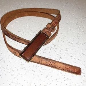 Vintage Distressed Style Belt